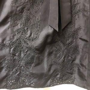 Banana Republic Dresses - Black embroidered Banana Republic dress